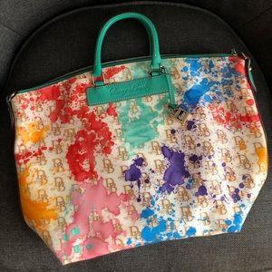 Dooney & Bourke Paint Pattern Purse